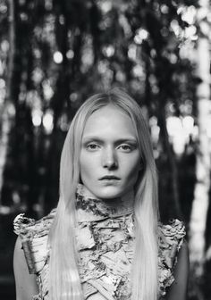 Maja Salamon by Benjamin Vnuk for Scandinavia S:S:A:W Magazine Spring:Summer 2015 7