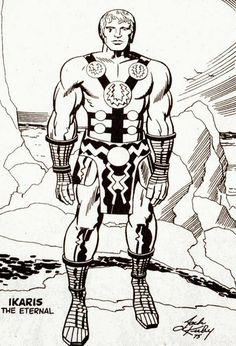 Cap'n's Comics: Ikarus The Eternal by Jack Kirby