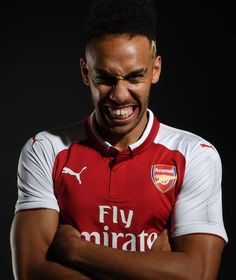 Aubameyang Arsenal, Arsenal Players, Arsenal Football, Champions League, Manchester United, Polo Ralph Lauren, Club, Mens Tops