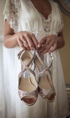 8975817c5919 50 scarpe da sposa colorate a cui non potrete rinunciare
