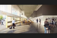 John Puttick Associates' revised design for Preston Bus Station