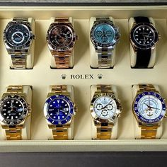 Rolex decisions 🤔⌚️ Which would you pick? Rolex is one of the most iconic watch brands. I can't wait to get… Stylish Watches, Luxury Watches For Men, Cool Watches, Rolex Watches, Audemars Piguet, Rolex Explorer, Dream Watches, Hand Watch, Expensive Watches