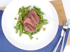 Skinny Six: Peultjessalade met biefstuk