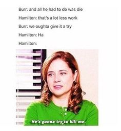 """The quiet low voice when he said """"all he had to do was die."""""""