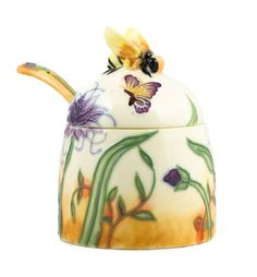 Butterfly Floral Ceramic Bee Honey Pot Old Tupton Ware UKM Gifts http://www.amazon.com/dp/B0043QNRTS/ref=cm_sw_r_pi_dp_f43eub0S1F91G