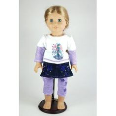 Rock Star Outfit for 18 Inch Dolls Including the American Girl Line (Toy)