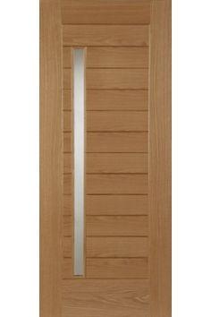 External Oak Door Oslo Untreated