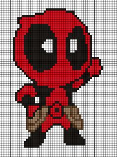 Deadpool pattern by Tsukinin on DeviantArt