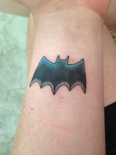e7421c286 24 Best Batman Wrist Tattoo images in 2017 | Wrist tattoo, Wrist ...