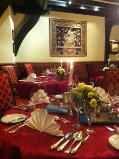 Good appetite in our restaurant 'Knappenstube' Guten Appetit in der Knappenstube