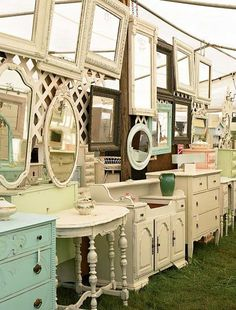 I had no clue about the antique week that is twice a year.  Must check this out!