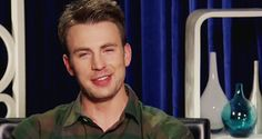 That time he did this trick with his eyebrow. | 32 Times Chris Evans Was Too Handsome For His OwnGood