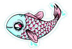 Un poisson à découper pour le 1er avril