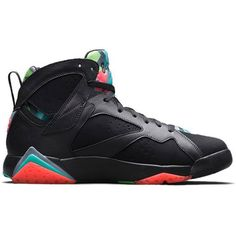 buy popular 3817a 82b62 How To Buy Authentic Youth Big Boys Air Jordan Boys Shoe Air Jordan 7  Barcelona Nights Black Blue Graphite Retro Infrared 23 705350 007 On Sale