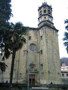 Guipuzcoa Éibar - Iglesia de San Andrés de Éibar.