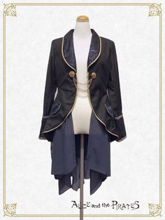 Reuental Jacket (black x navy x gold - Men's size) - Alice and the Pirates.  For my husband.
