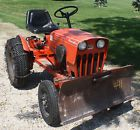 Power King 1618 Economy Tractor with Snowblower blade and belly mower