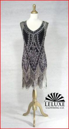 Beaded 1920's Style Dresses.