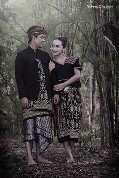 Lombok- Traditional clothes