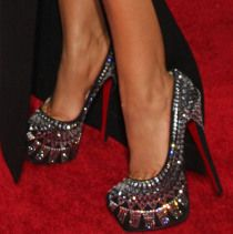 The Christian Louboutin 'Decorapump' Spotted Again – This Time Looking Sexy On Christina Aguilera