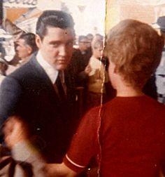 """Linda Alexander of Blaine bumped into Elvis Presley at the Seattle World's Fair where he was filming his twelfth movie """"It Happened at the World's Fair"""" (MGM) on a crisp September day in 1962 and had him autograph her blood-type card. It's a moment she still treasures."""