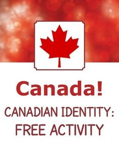 "Free activity from my ""Canada! Canadian Identity - 14 Readings Passages and Activities"". Includes 8 discussion or writing prompts on the topic of what it means to be a Canadian. Pre Reading Activities, Vocabulary Activities, Free Activities, Canadian History, Canadian Symbols, Canadian Identity, Teaching Social Studies, Teaching Tools, Teaching Resources"