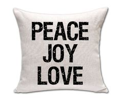 """18"""" Proverb Words Cushion Covers"""