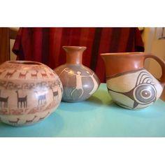 Hermosas Vasijas De Barro Del Norte Argentino