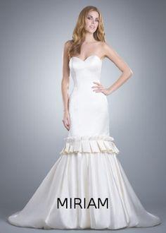 Miriam - Bridal Gown, OZ-BG-022, Full/Short Length