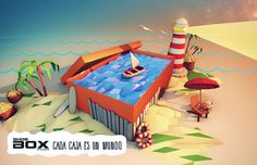ShoeBox_Cada Caja es un Mundo_2013 on Behance
