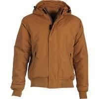 Dickies Mens Cornwell Hooded Insulated Jacket Brown Duck| MandMDirect.com| > Fashion > Men's Clothing > Men's Outerwear > MandMDirect.com|247zzz.com