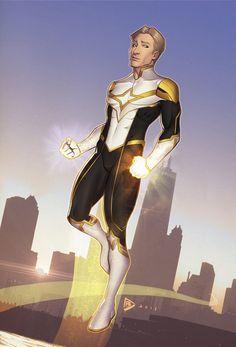Sentinel Armor concept 1 by dartbaston on DeviantArt Superhero Suits, Superhero Characters, Superhero Design, Fantasy Characters, Comic Character, Character Concept, Character Design, Super Hero Outfits, Super Hero Costumes