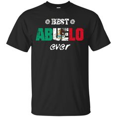 Father Day Gifts Grandad Spanish Shirts Best Abuelo Ever T-shirts Hoodies Sweatshirts