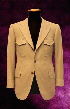 Cifonelli Bespoke Three New Creations – Parisian Gentleman Mens Fashion Blazer, Suit Fashion, Womens Fashion, Male Fashion, Style Costume Homme, Style Masculin, Safari Jacket, Stylish Mens Outfits, Bespoke Tailoring