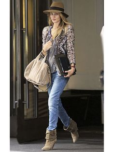 Rosie Huntington-Whiteley Style - Fashion Tips from Model Rosie Hungtingon-Whiteley - Marie Claire