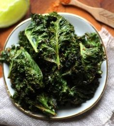 Taco Spiced Kale Chips