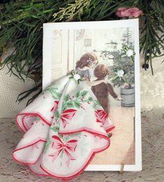 The Wonder of Christmas Keepsake Hanky Card by onceuponahanky, $8.00