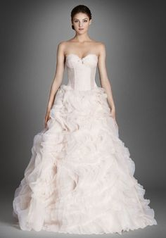 Lazaro - Sweetheart Ball Gown in Silk Satin