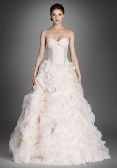 Lazaro - Sweetheart Ball Gown in Silk Satin