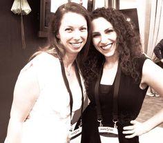 Candice with one of her photography mentors, Lindsay Adler. #LindsayAdler #CandiceBetty