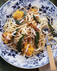 Pasta with Brown Butter, Sage, & Cauliflower - via Sweet Paul Magazine #SweetPaul #Cauliflower