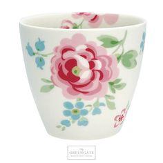 cce5780c863 GreenGate Latte cup Meryl white SS18 #GreenGate #GreenGateOfficial Günstig  Kaufen, Geschirr, Deko