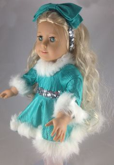 18 inch Doll Clothes American Girl Ice by mybonbonboutique, $25.00