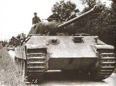 Panther on eastern front late 1944.
