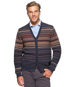 Argyleculture Sweater, Fair Isle Cardigan Sweater - Mens Sweaters - Macy's