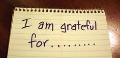 http://clareifi.com/gratitude/  I try to make a habit of beginning each of my days with gratitude.  I am grateful that I woke up… I …