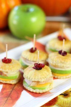 Thanksgiving Turkey Appetizer - PERFECT for enjoying for Thanksgiving
