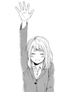 Naho from orange Manga Anime, Manga Girl, Anime Girls, Art Anime, Anime Art Girl, Beautiful Anime Girl, I Love Anime, Chibi, Desu Desu