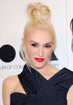 Gwen Stefani's top knot