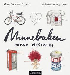Minneboken - norsk nostalgi Nostalgia, Place Card Holders, Books, Libros, Book, Book Illustrations, Libri